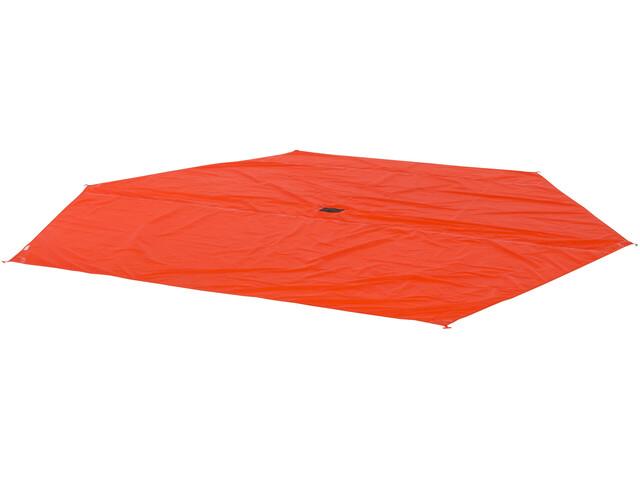 Big Agnes Mint Saloon Footprint, orange